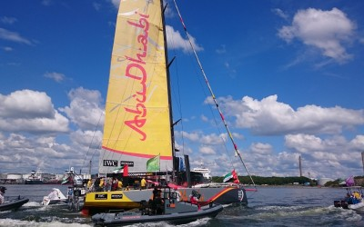 Volvo Ocean Race In port race